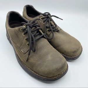 Merrell World Rambler Brown Leather Oxford Shoes 9